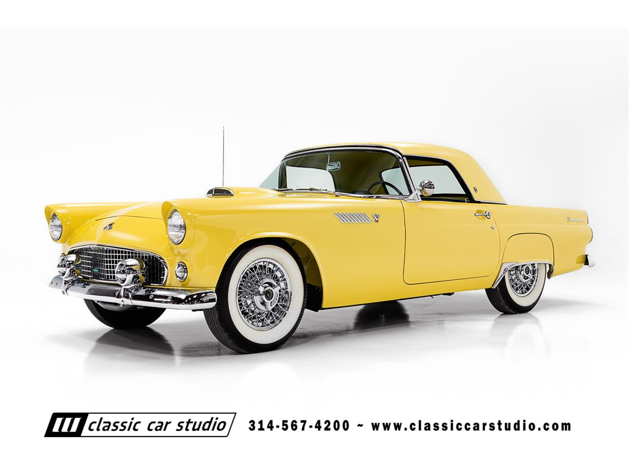 Large Picture of 1955 Ford Thunderbird located in SAINT LOUIS Missouri - PKP1