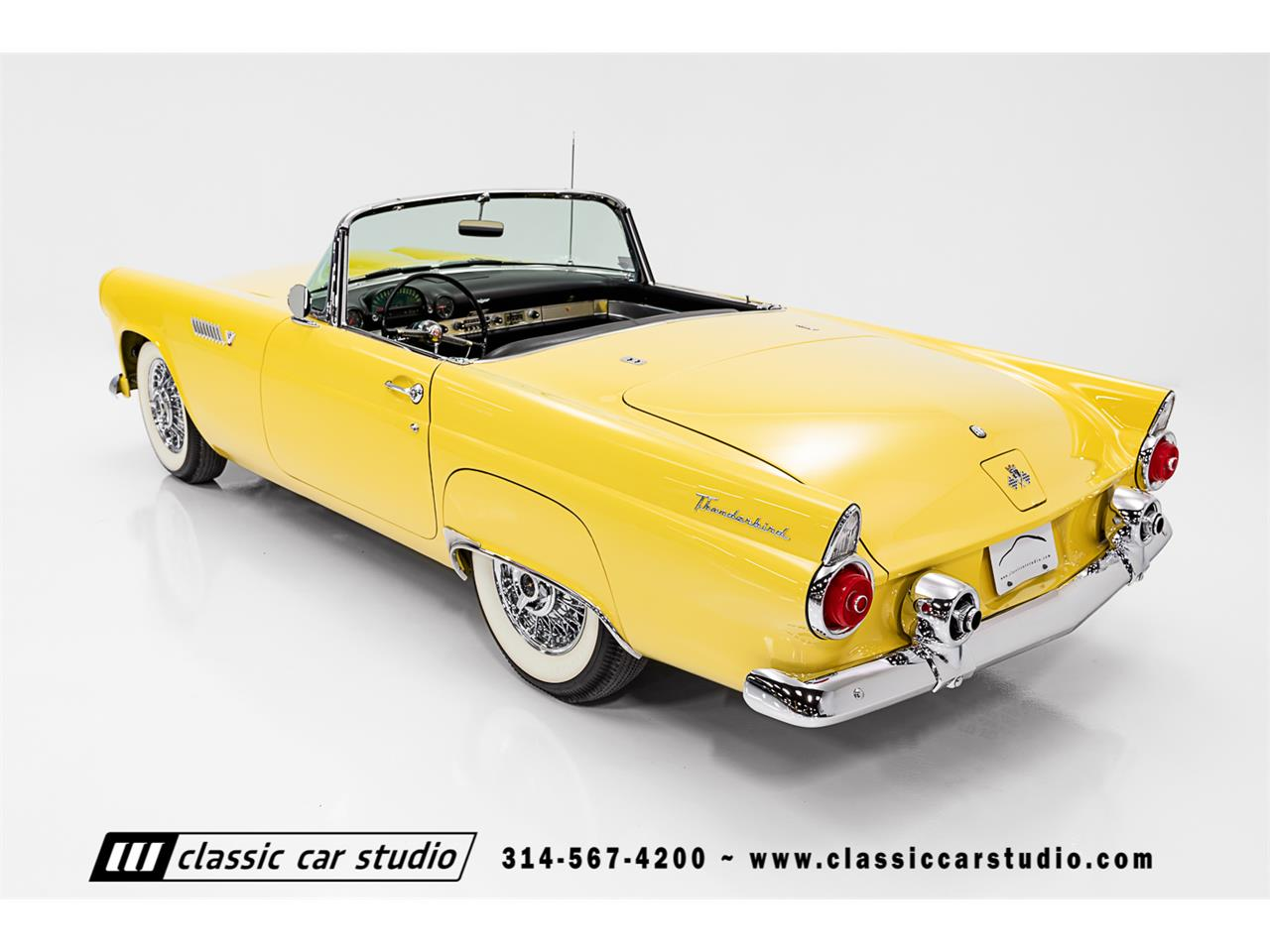 Large Picture of 1955 Thunderbird Auction Vehicle - PKP1