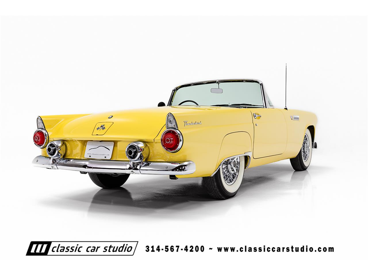 Large Picture of '55 Thunderbird located in Missouri Offered by Classic Car Studio - PKP1