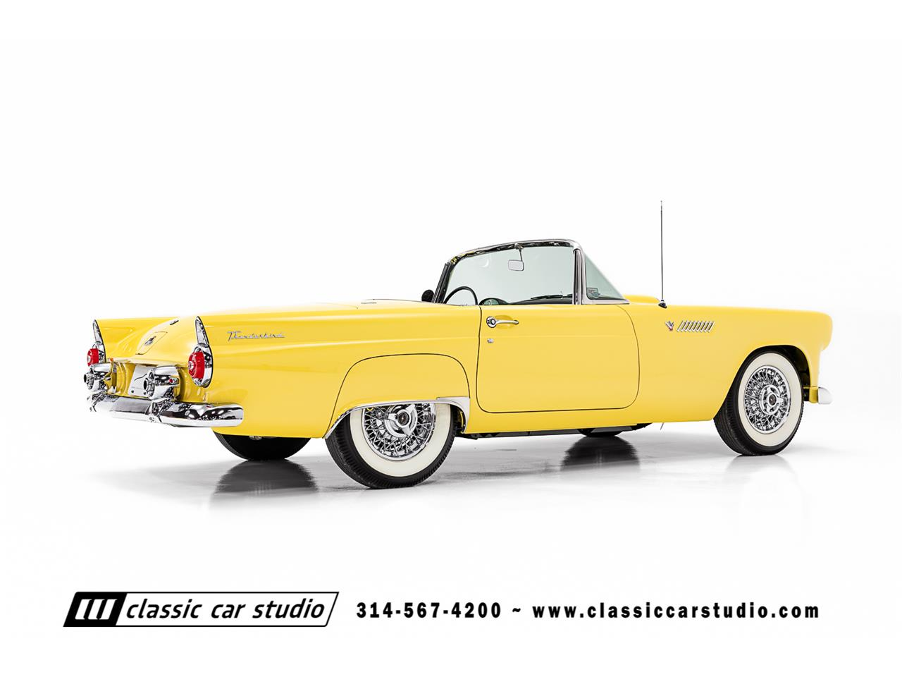 Large Picture of '55 Ford Thunderbird Auction Vehicle - PKP1