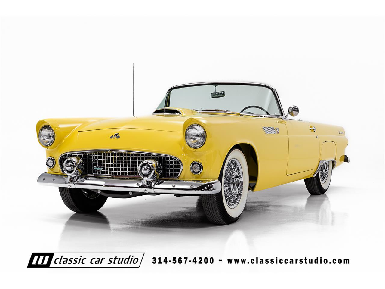 Large Picture of Classic '55 Ford Thunderbird Offered by Classic Car Studio - PKP1