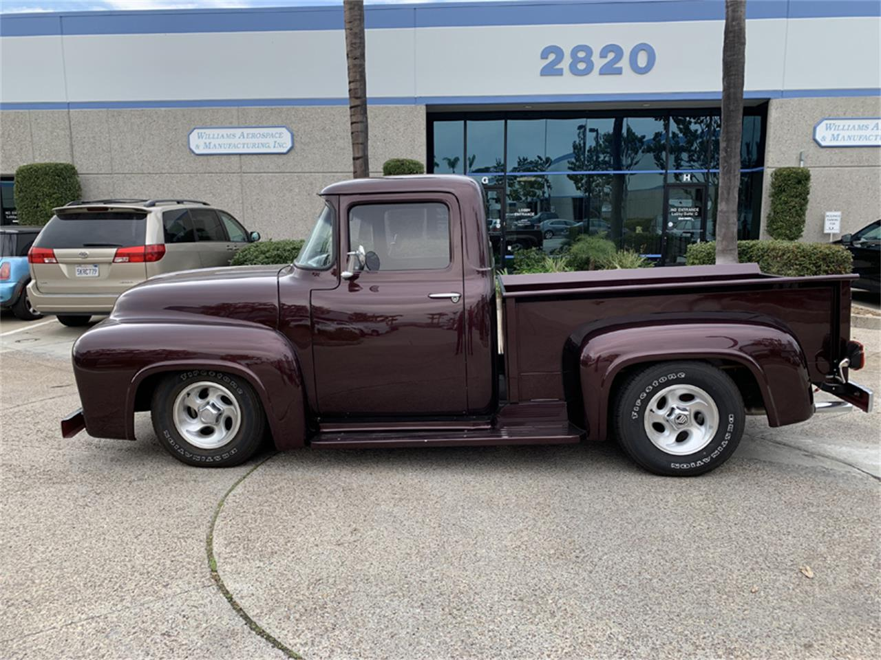 Large Picture of Classic 1956 Ford F100 located in Spring Valley California - PKQM