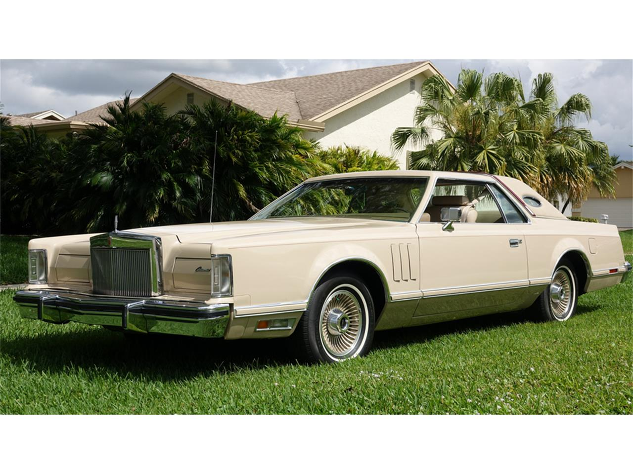 For Sale: 1979 Lincoln Continental Mark V in Boca Raton, Florida