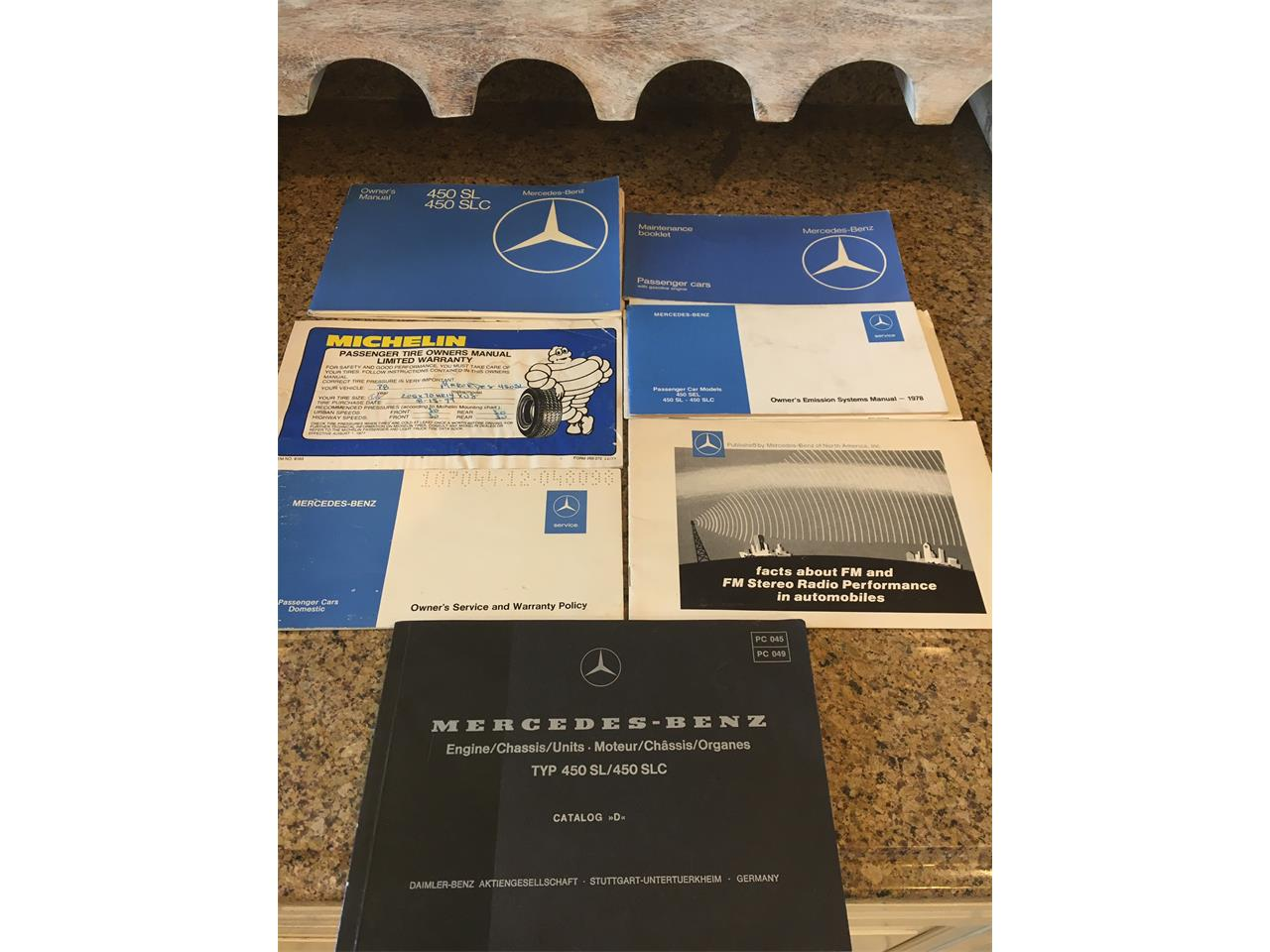 Large Picture of '78 Mercedes-Benz 450SL located in Shelby Township  Michigan - PIIG