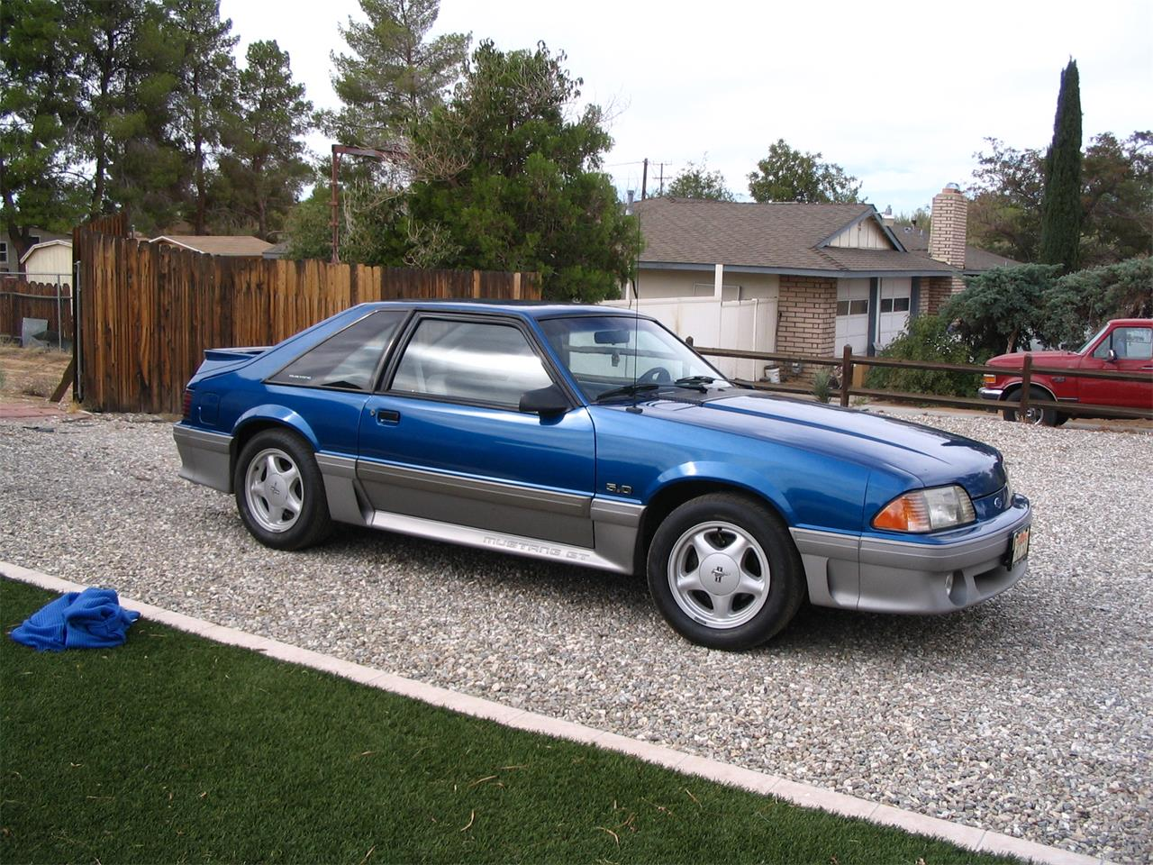91 Mustang Gt >> For Sale 1991 Ford Mustang Gt In Apple Valley California