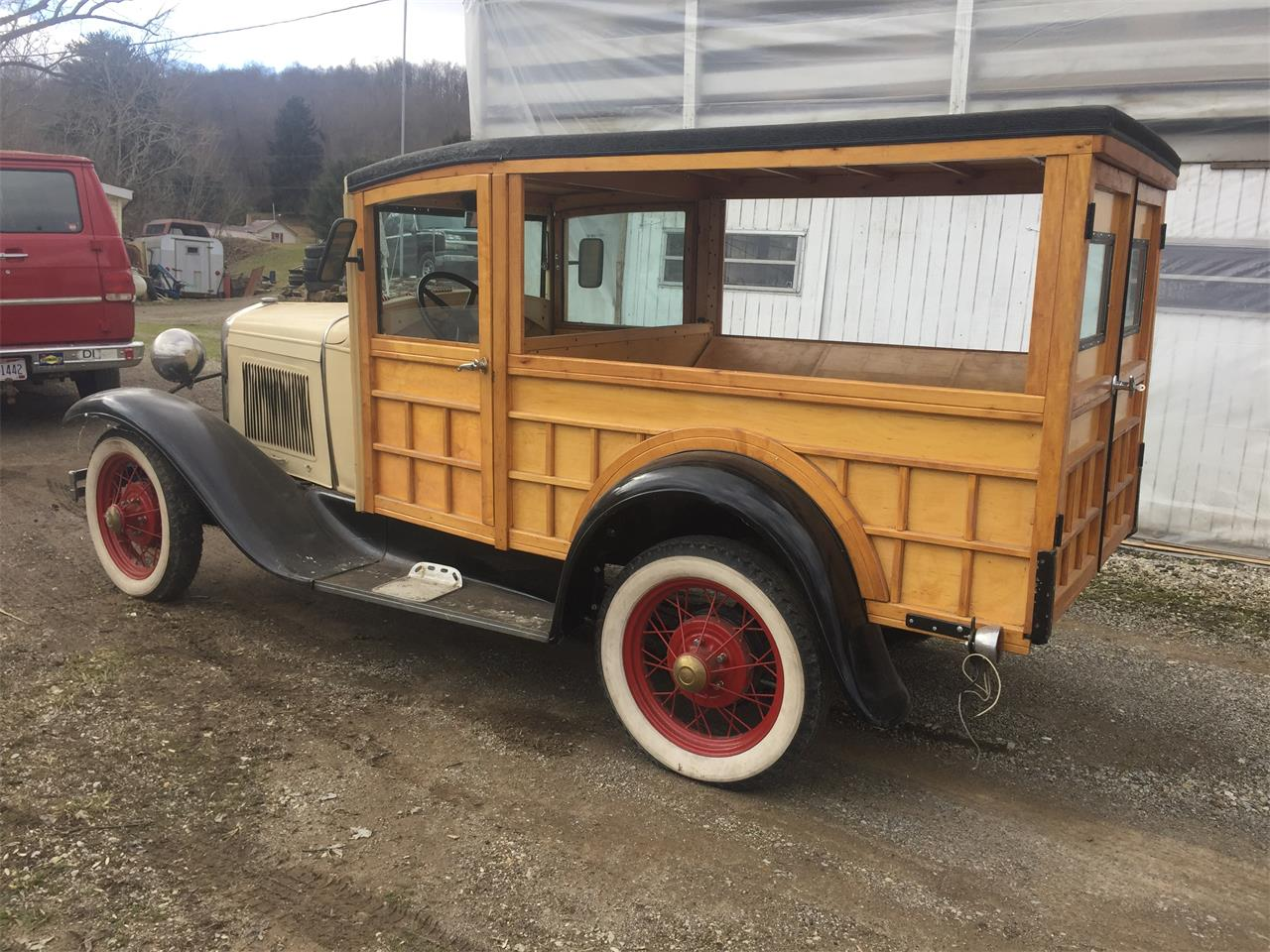 Large Picture of '30 Woody Wagon - PLAU