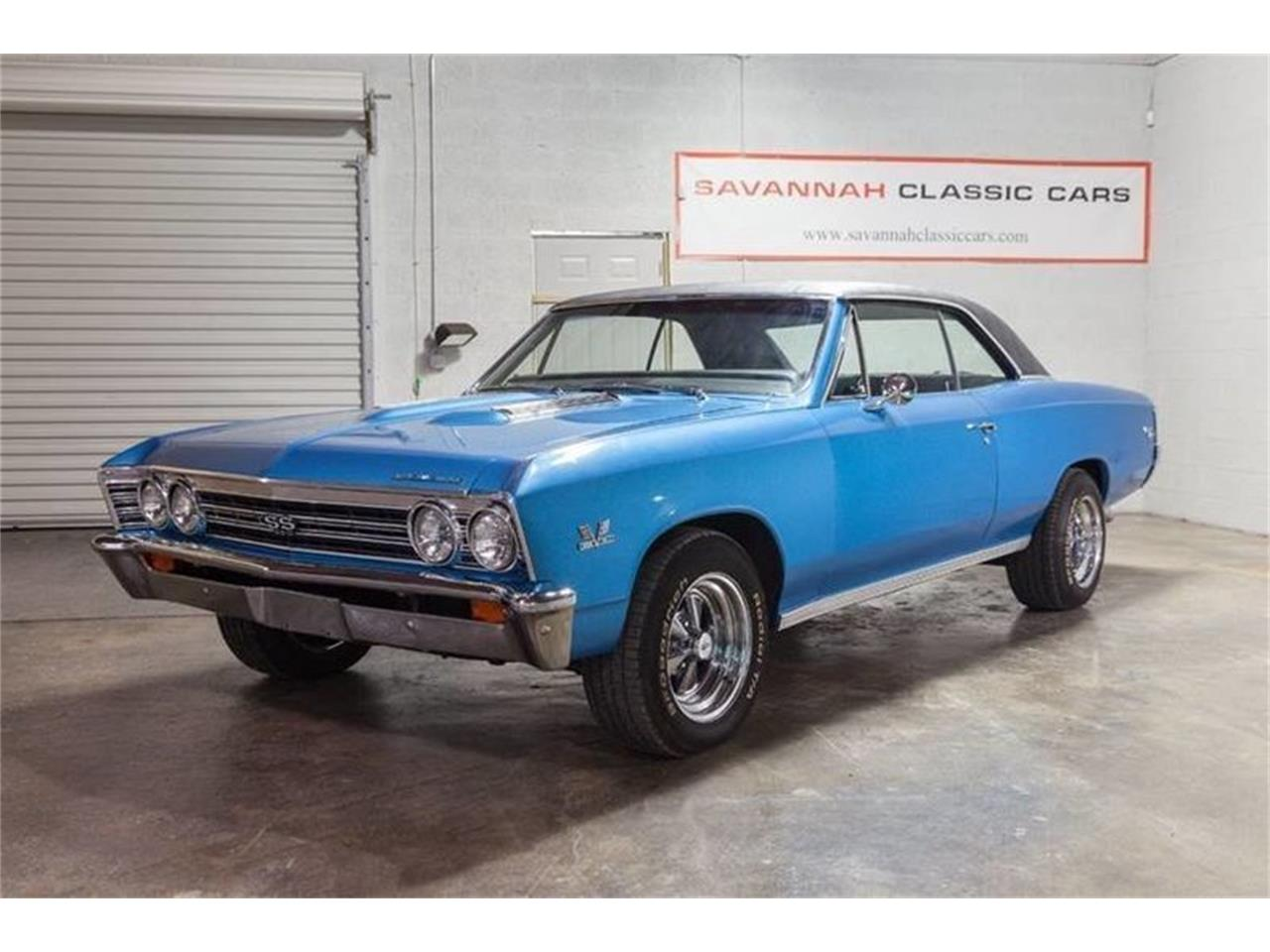 Large Picture of Classic 1967 Chevelle located in Savannah Georgia Offered by Savannah Classic Cars - PLF6