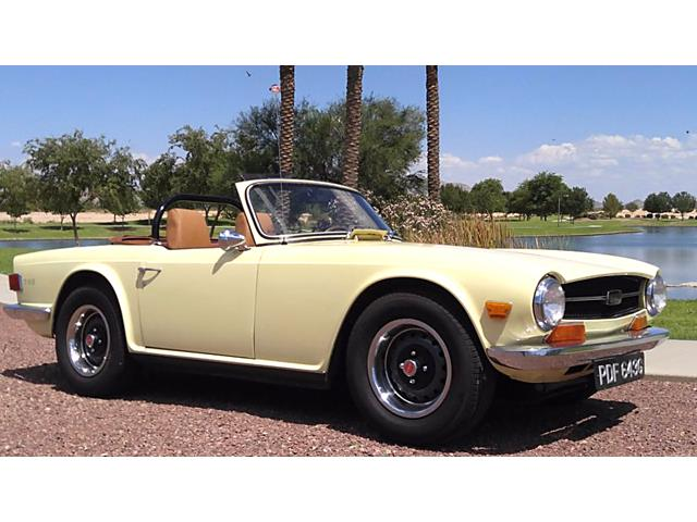 Picture of 1969 TR6 located in New Hampshire - PIJ9
