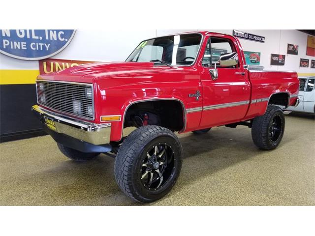 1986 chevy k10 long bed
