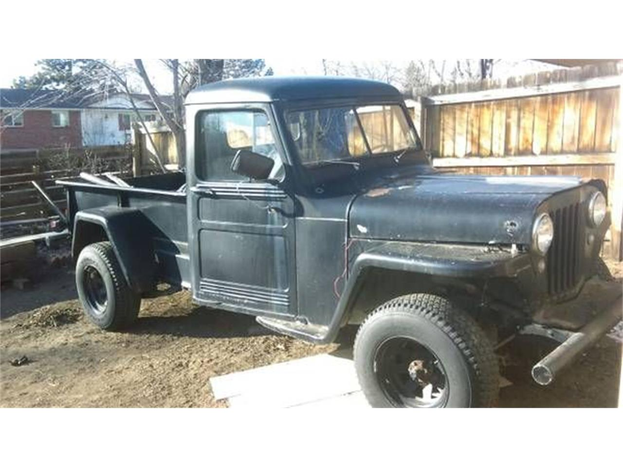 For Sale: 1952 Willys Jeep in Cadillac, Michigan