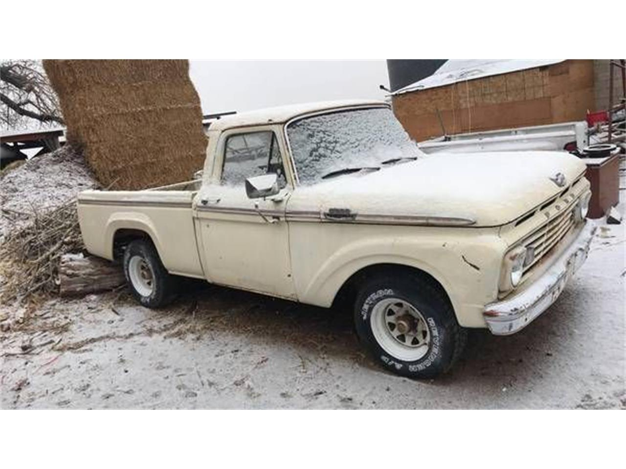 Large Picture of '63 F100 - PLUX