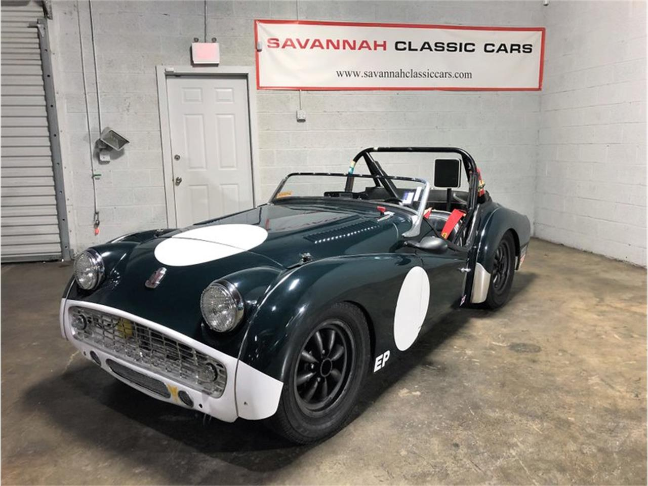 Large Picture of Classic '57 Triumph TR3 located in Savannah Georgia Offered by Savannah Classic Cars - PLWQ
