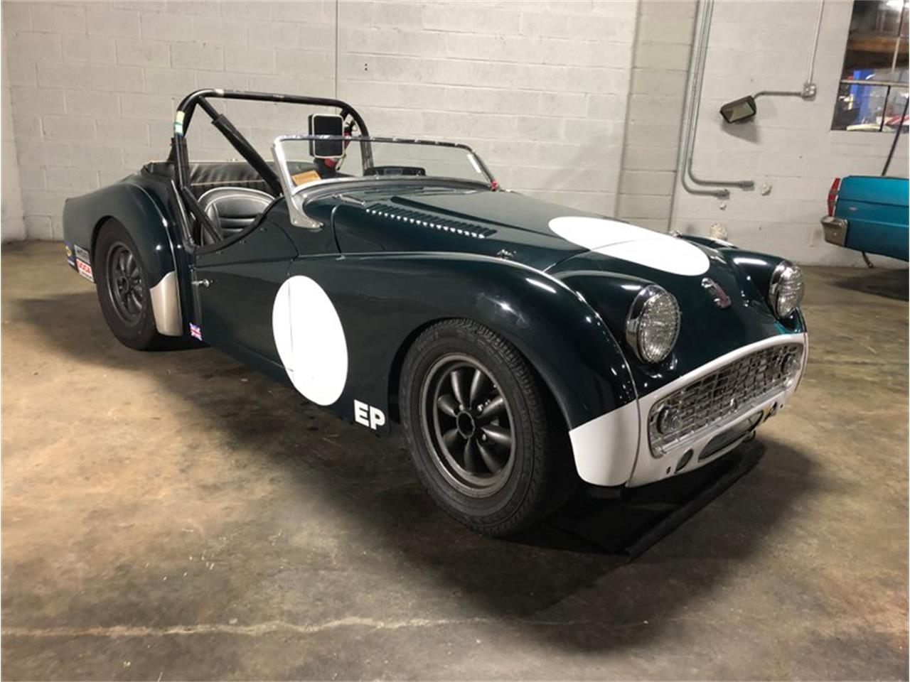 Large Picture of '57 Triumph TR3 located in Savannah Georgia Offered by Savannah Classic Cars - PLWQ