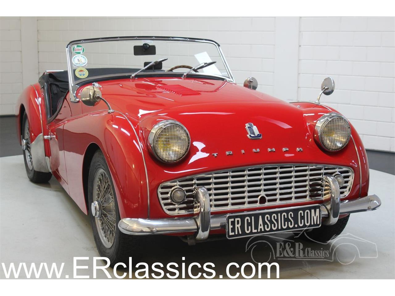 Large Picture of 1960 TR3A Offered by E & R Classics - PLXB