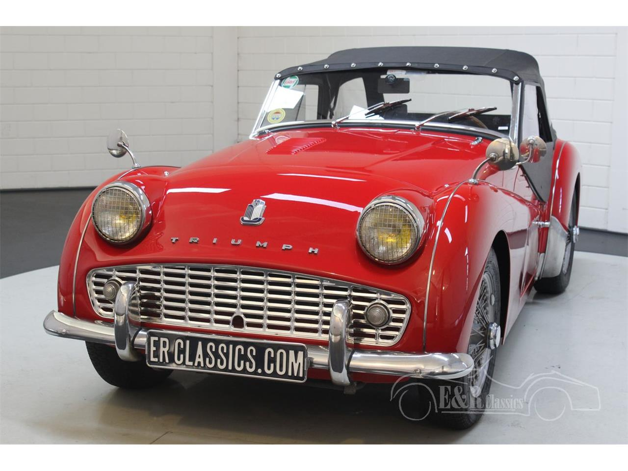 Large Picture of Classic '60 Triumph TR3A located in Waalwijk Noord-Brabant - PLXB