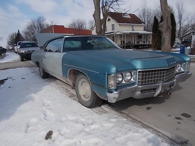 1971 Chevrolet Impala For Sale On Classiccars Com On