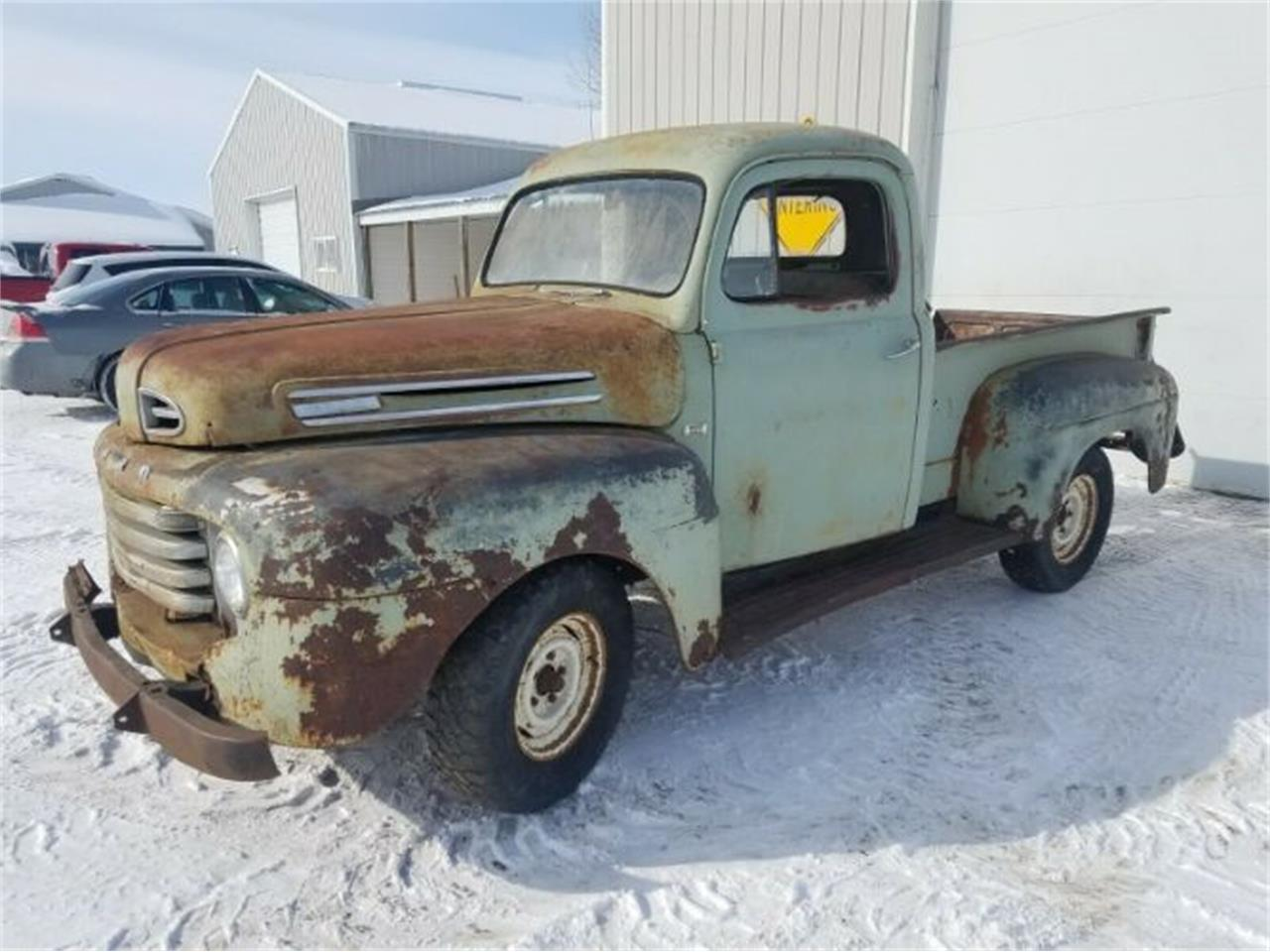 Large Picture of Classic 1949 Ford F100 located in Cadillac Michigan - $5,895.00 Offered by Classic Car Deals - PM14