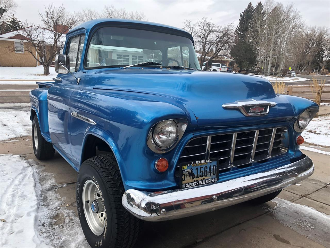 1955 Chevy Truck For Sale >> For Sale 1955 Chevrolet 3100 In Laramie Wyoming