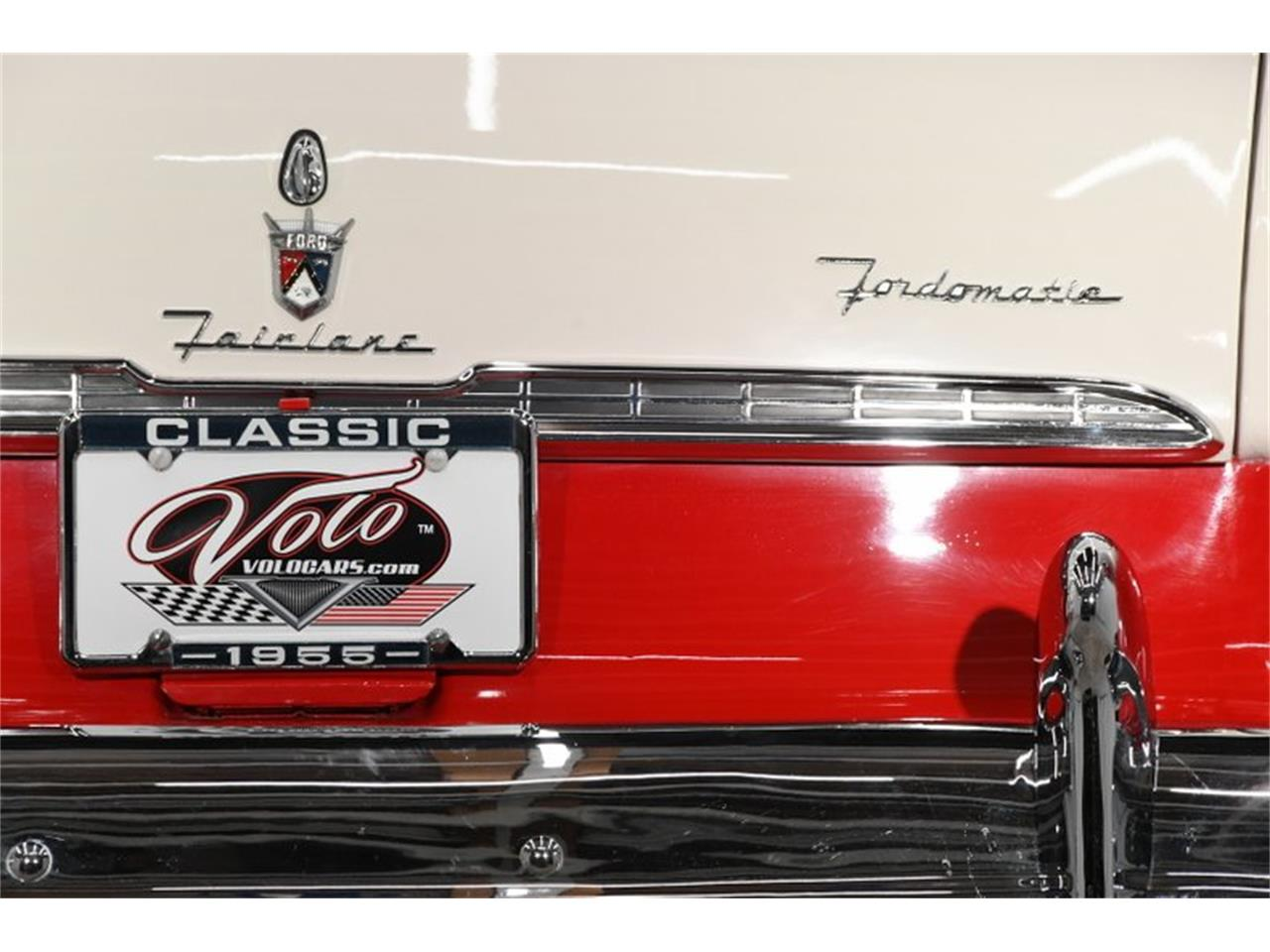 Large Picture of '55 Ford Fairlane located in Volo Illinois - $45,998.00 Offered by Volo Auto Museum - PM6P
