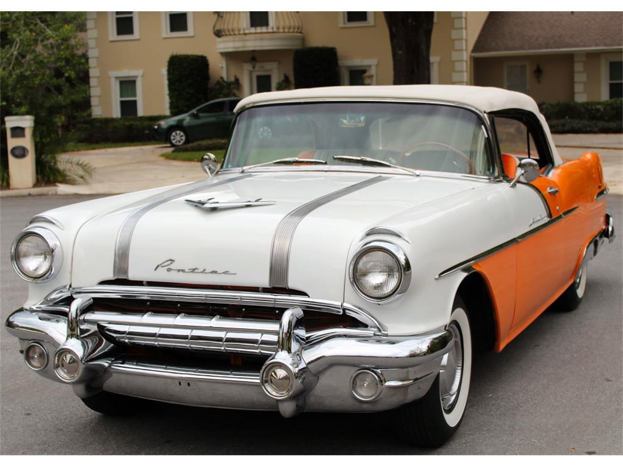 Large Picture of Classic '56 Pontiac Star Chief located in Lakeland Florida Offered by MJC Classic Cars - PMBS