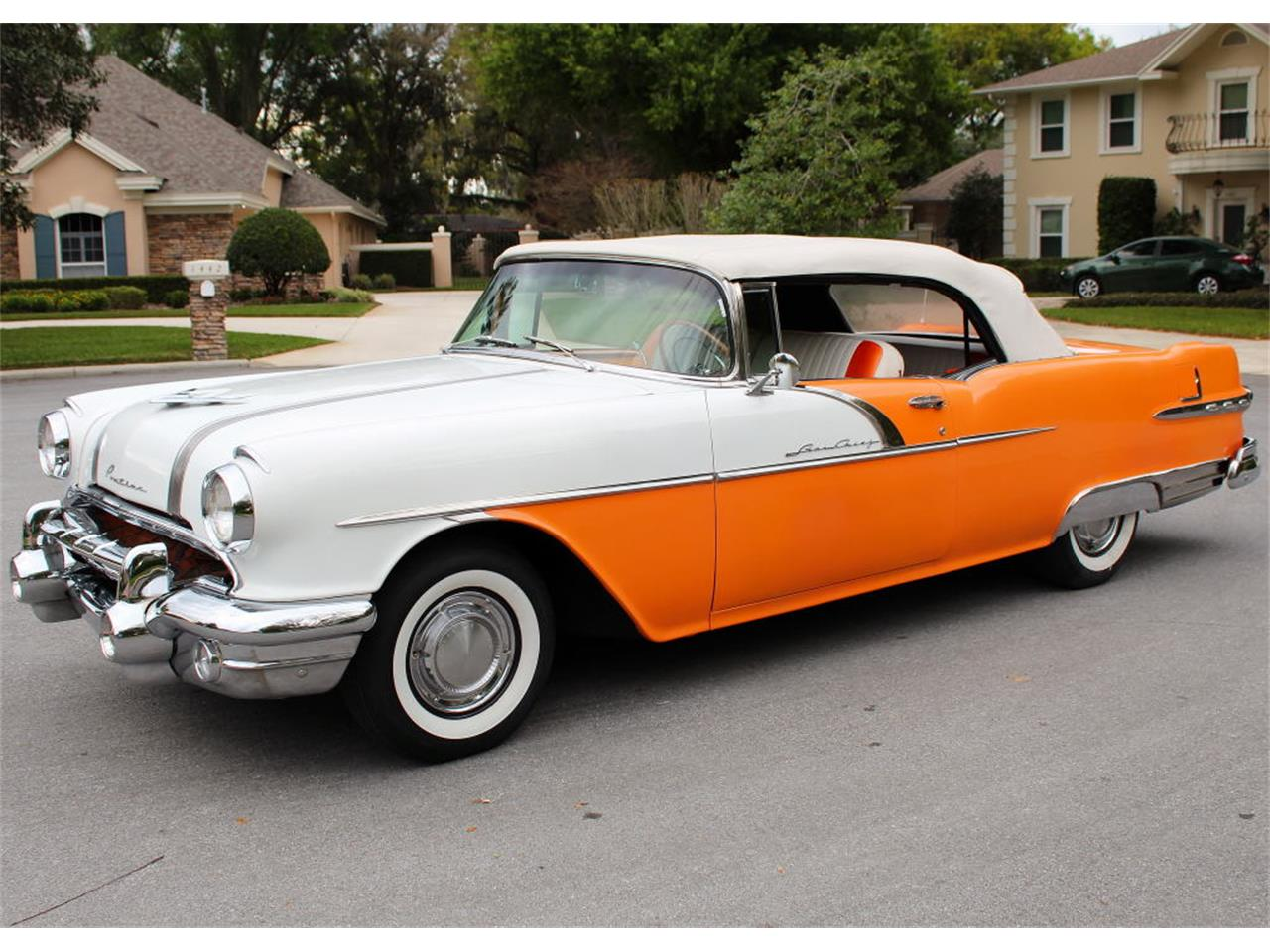 Large Picture of Classic 1956 Pontiac Star Chief located in Lakeland Florida Offered by MJC Classic Cars - PMBS