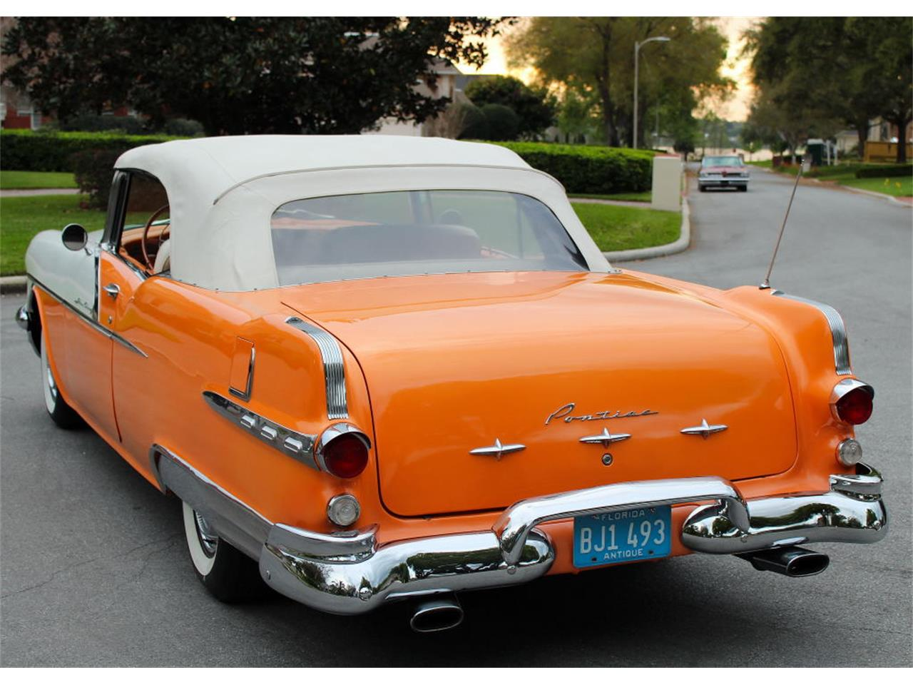 Large Picture of 1956 Pontiac Star Chief located in Lakeland Florida Offered by MJC Classic Cars - PMBS