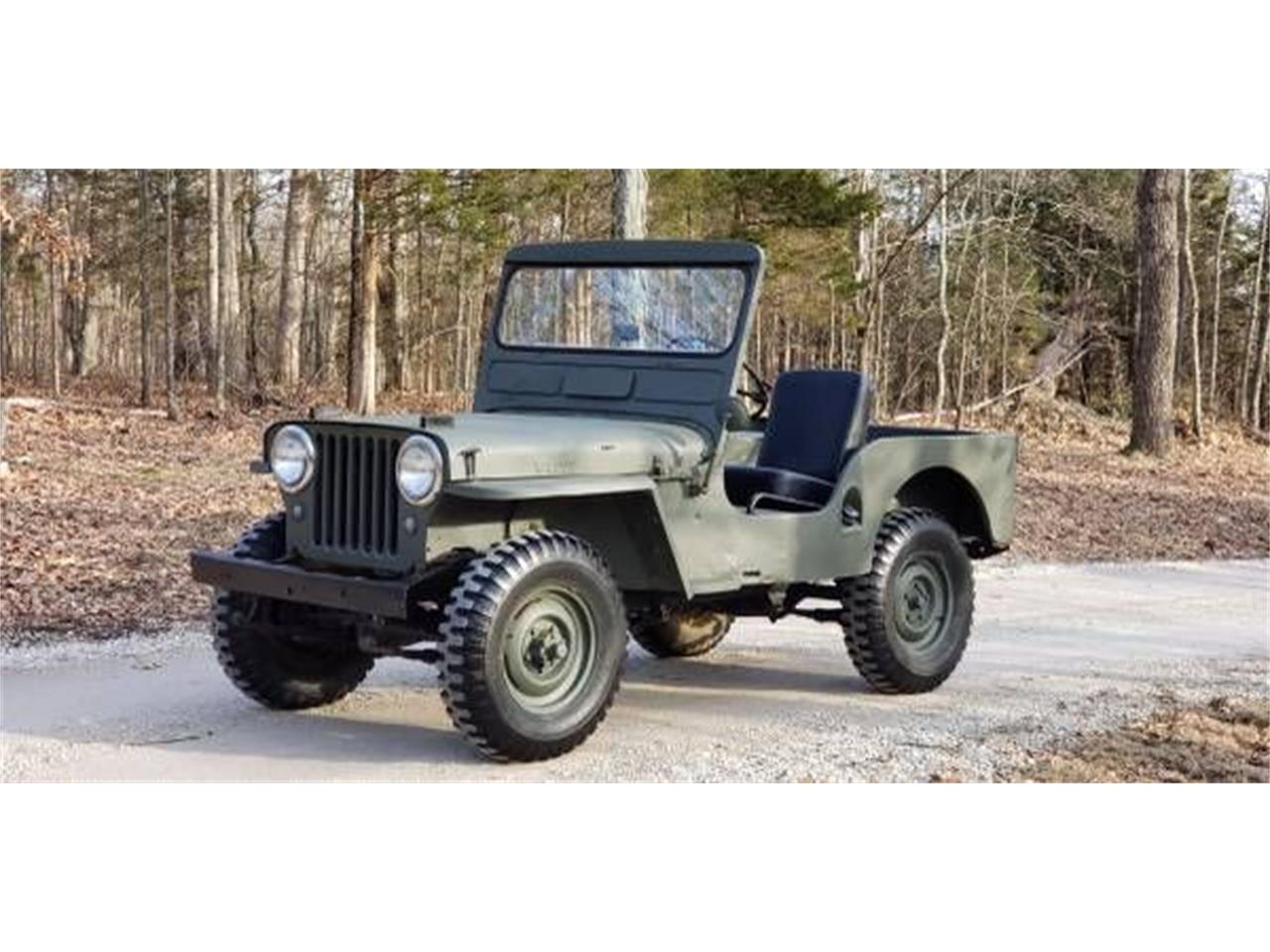For Sale: 1949 Willys Jeep in Cadillac, Michigan