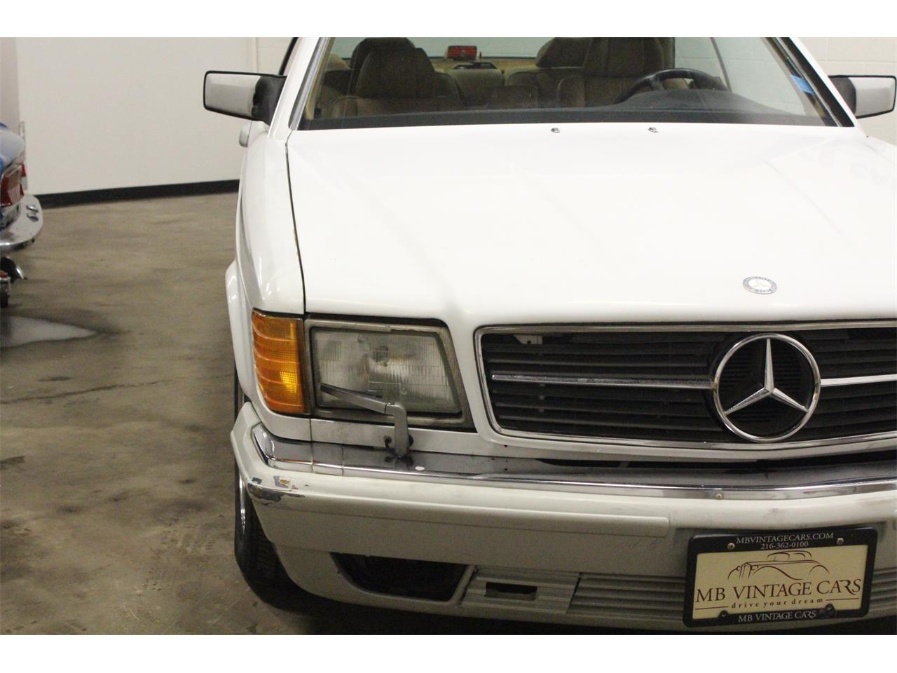 Large Picture of 1989 Mercedes-Benz 560SEC located in Cleveland Ohio Offered by MB Vintage Cars Inc - PMH7