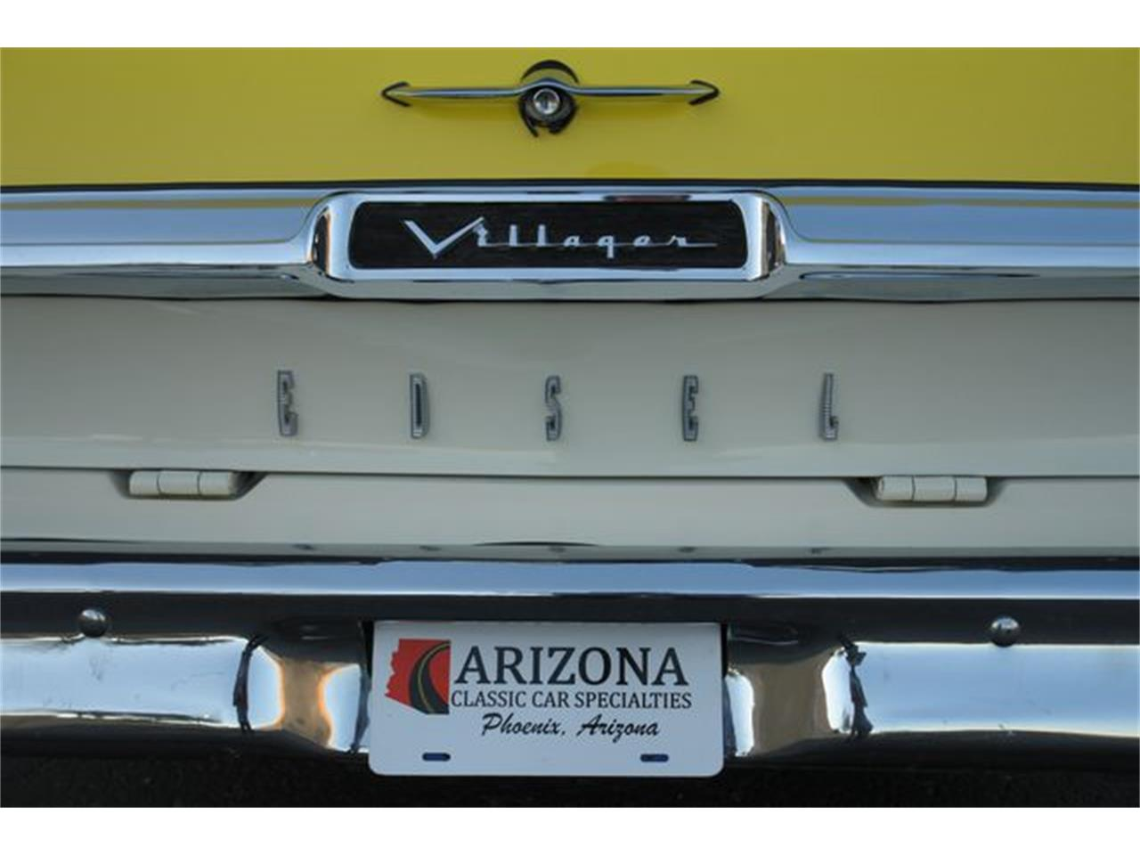 Large Picture of Classic 1959 Edsel Villager located in Phoenix Arizona - $29,950.00 Offered by Arizona Classic Car Sales - PMJF