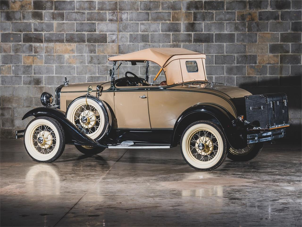 Large Picture of Classic '30 Model A DeLuxe Roadster located in Missouri Auction Vehicle Offered by RM Sotheby's - PMMS