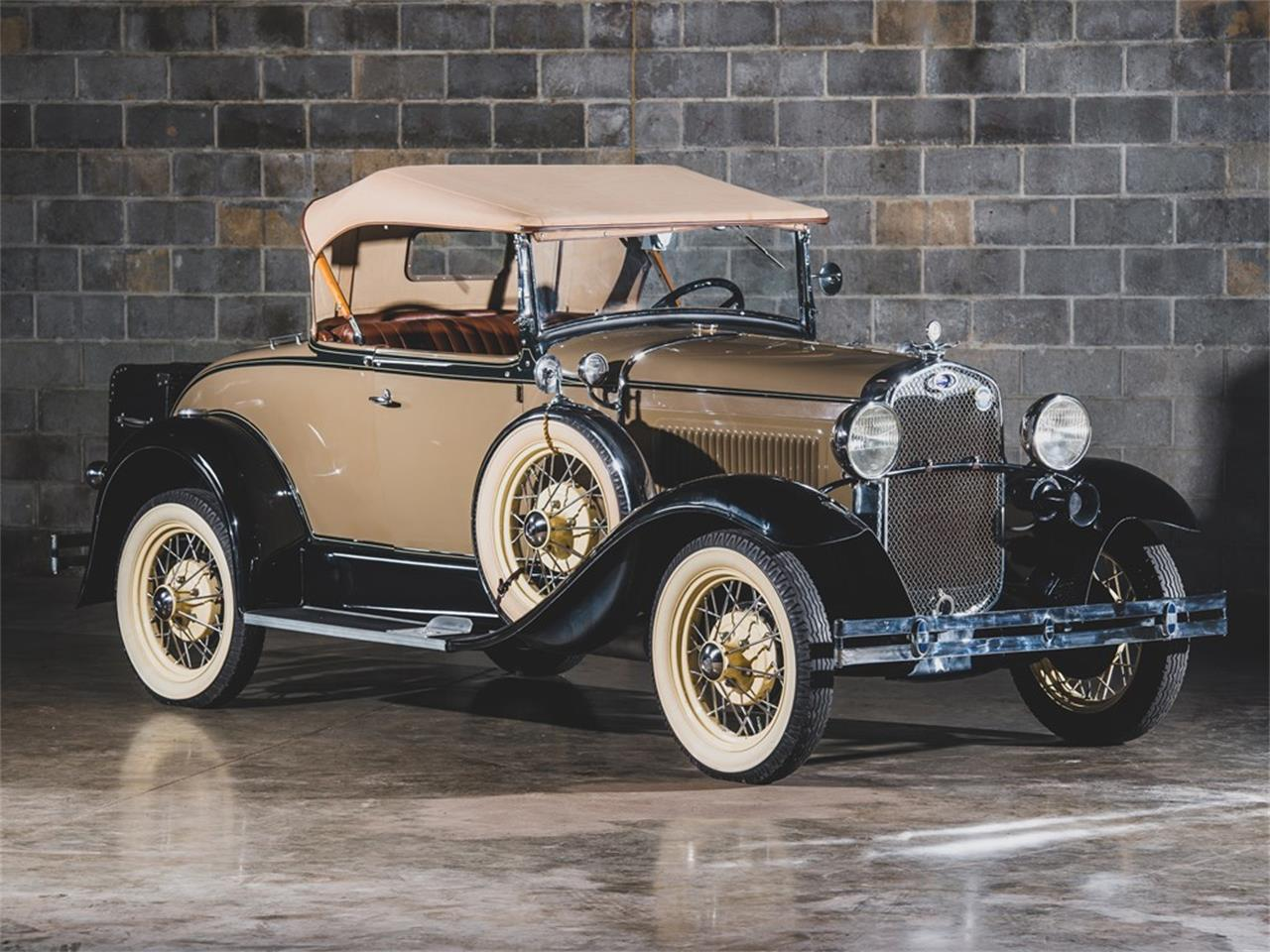 Large Picture of Classic 1930 Ford Model A DeLuxe Roadster Auction Vehicle Offered by RM Sotheby's - PMMS