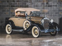 Picture of '30 Model A DeLuxe Roadster located in St Louis Missouri Auction Vehicle Offered by RM Sotheby's - PMMS