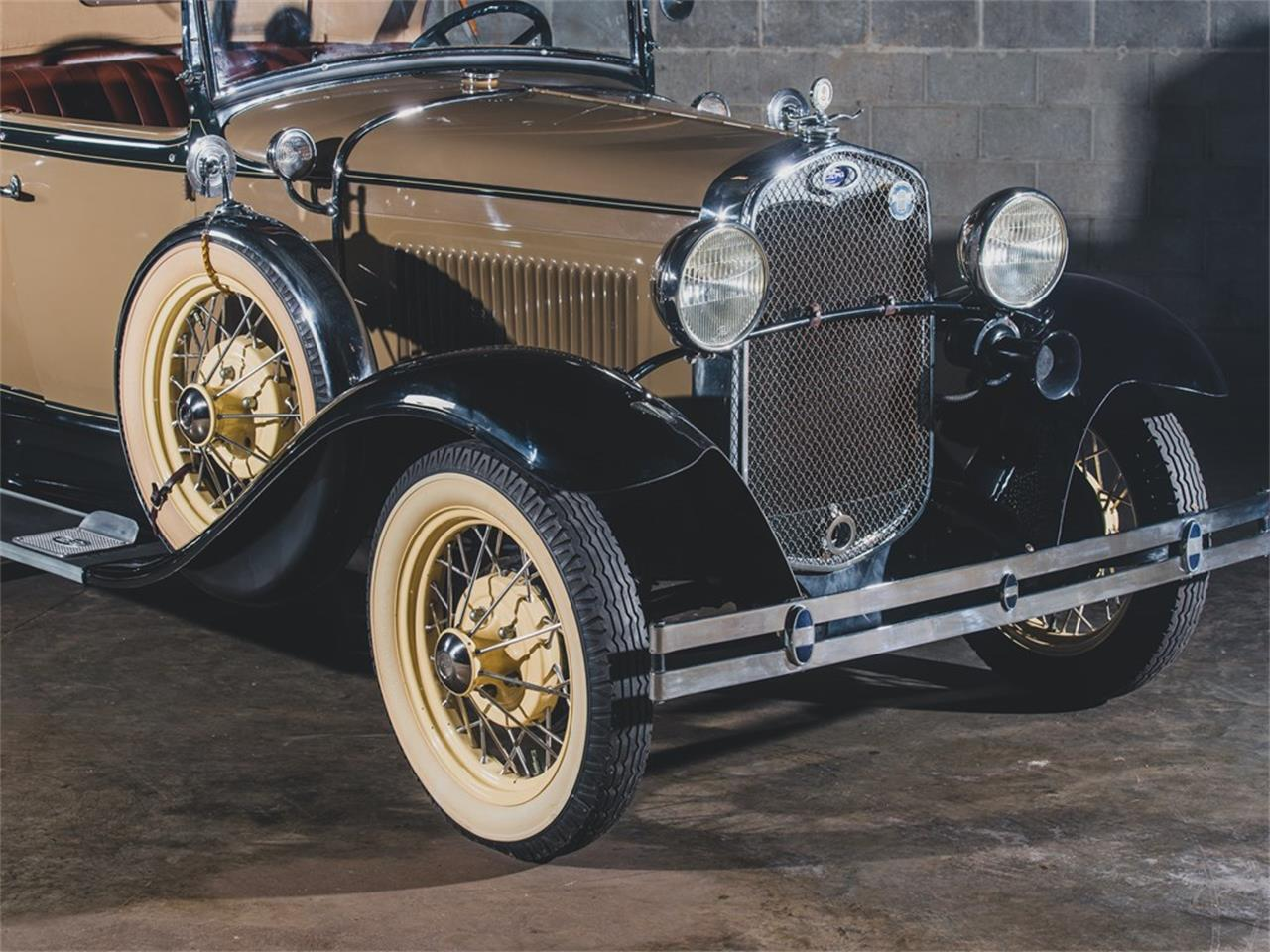 Large Picture of Classic 1930 Model A DeLuxe Roadster located in St Louis Missouri - PMMS
