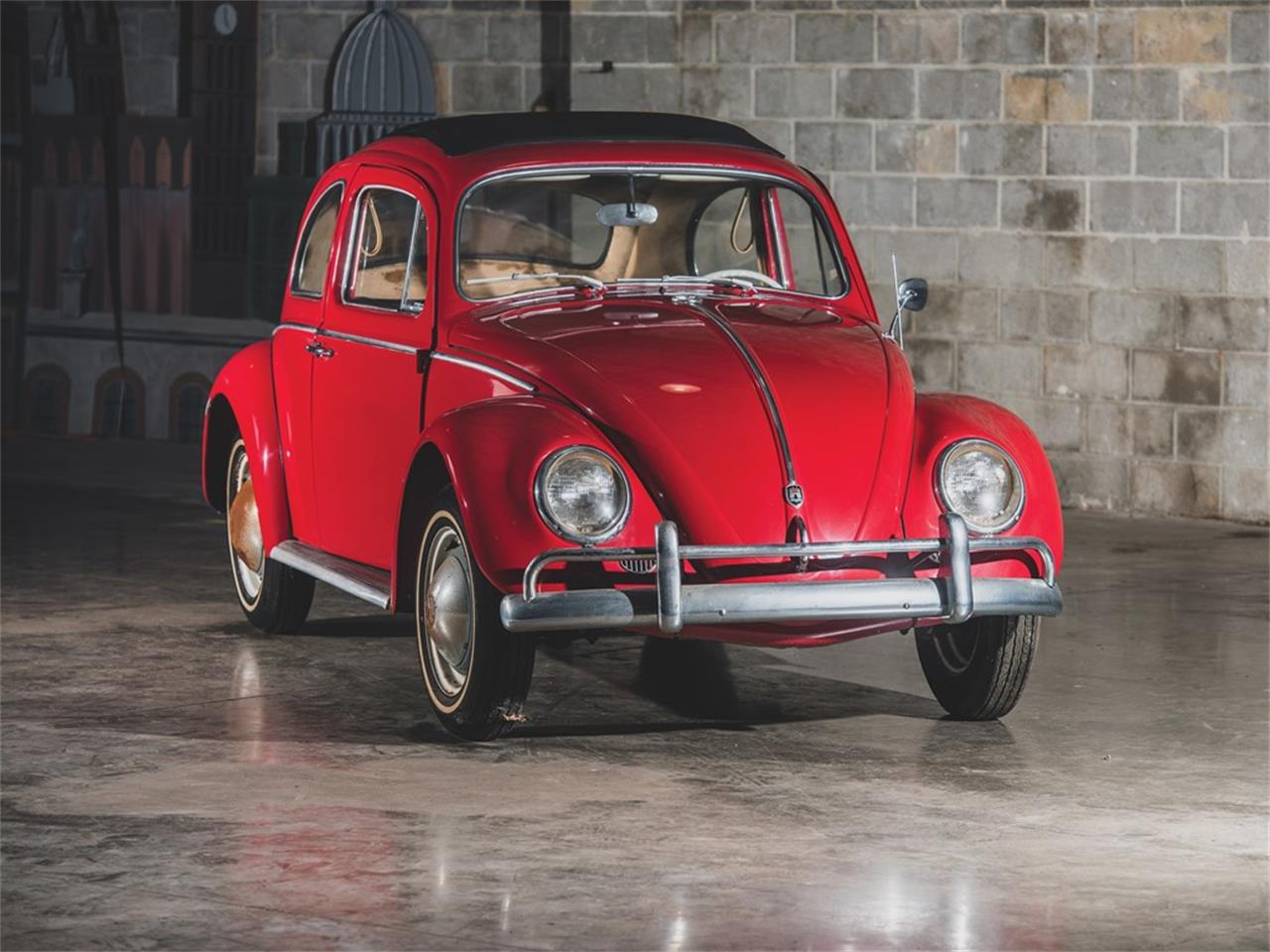 Large Picture of 1962 Beetle Deluxe 'Sunroof' Sedan Auction Vehicle Offered by RM Sotheby's - PMN5
