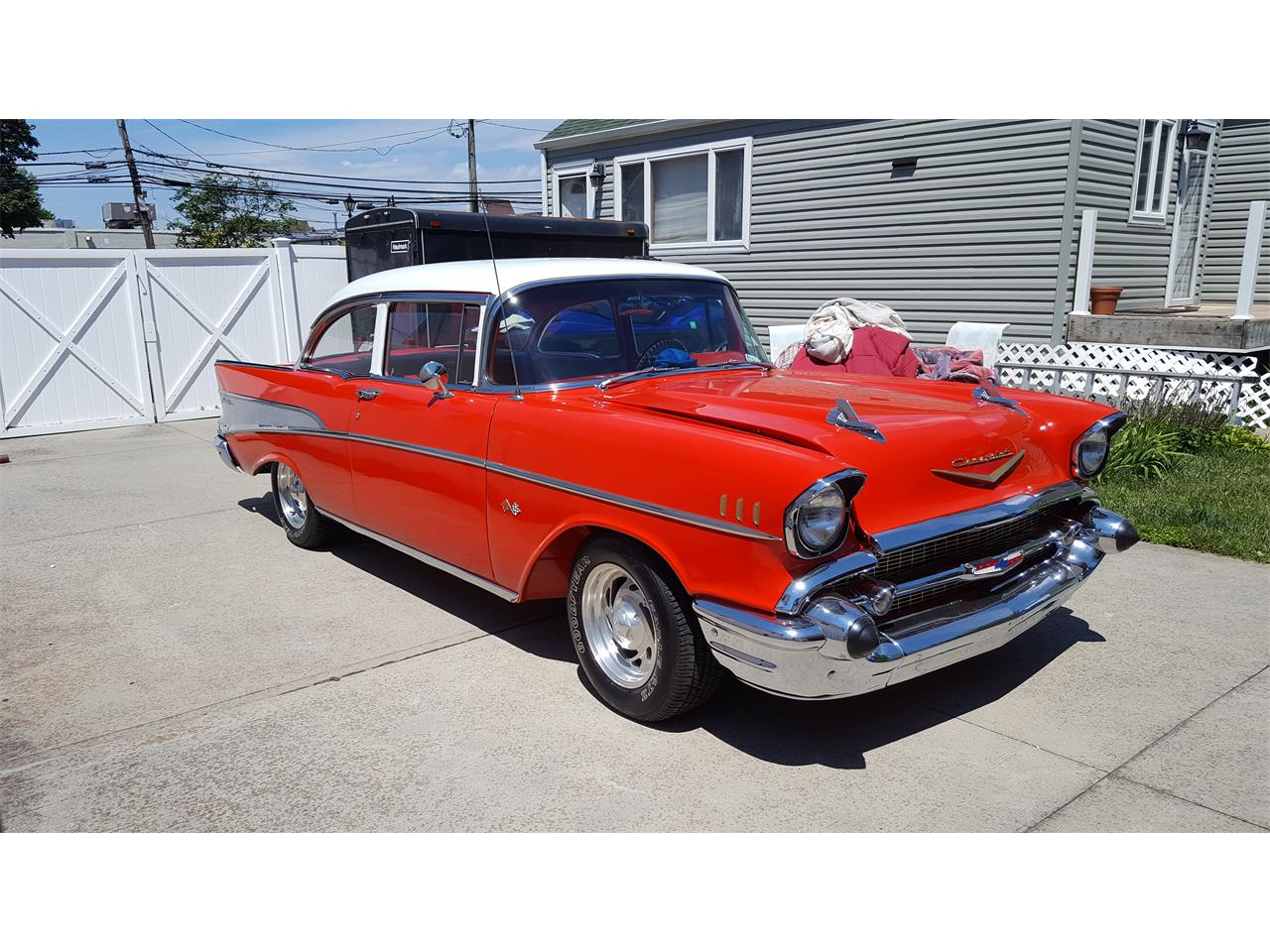 Large Picture of Classic '57 Chevrolet Bel Air located in New York - $69,999.00 - PN5I