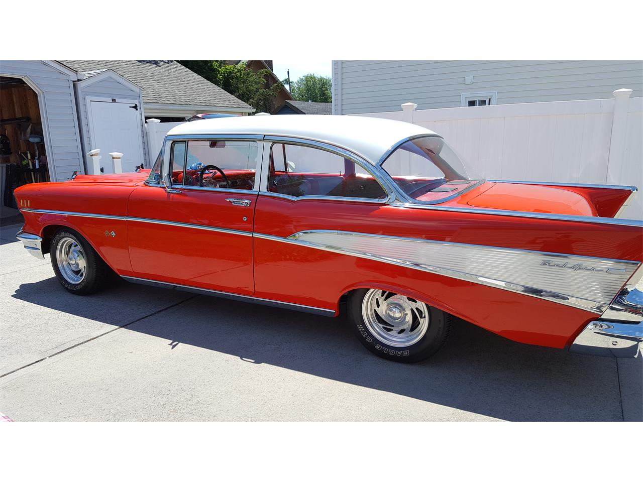 Large Picture of Classic '57 Bel Air - $69,999.00 Offered by a Private Seller - PN5I