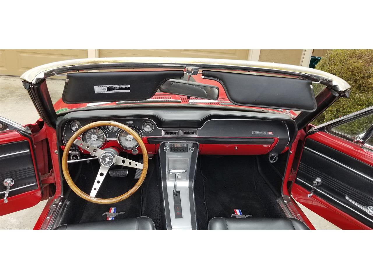Large Picture of '67 Mustang - PI9E