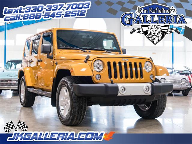 Picture of '14 Jeep Wrangler located in Salem Ohio - $29,800.00 - PIQ0