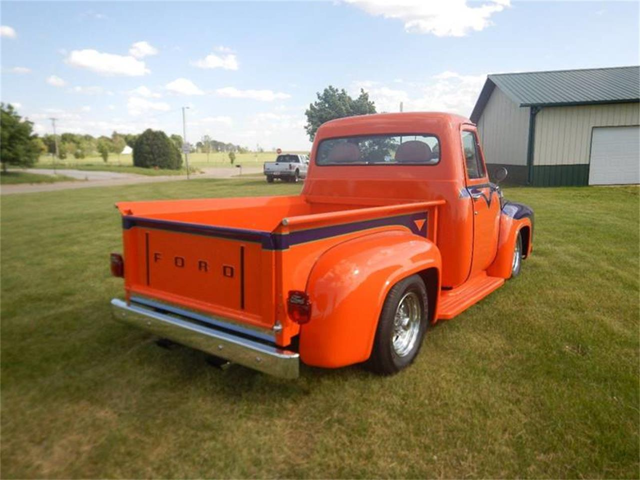 Large Picture of Classic '55 Ford F100 located in Clarence Iowa Auction Vehicle Offered by Kinion Auto Sales & Service - PNCF