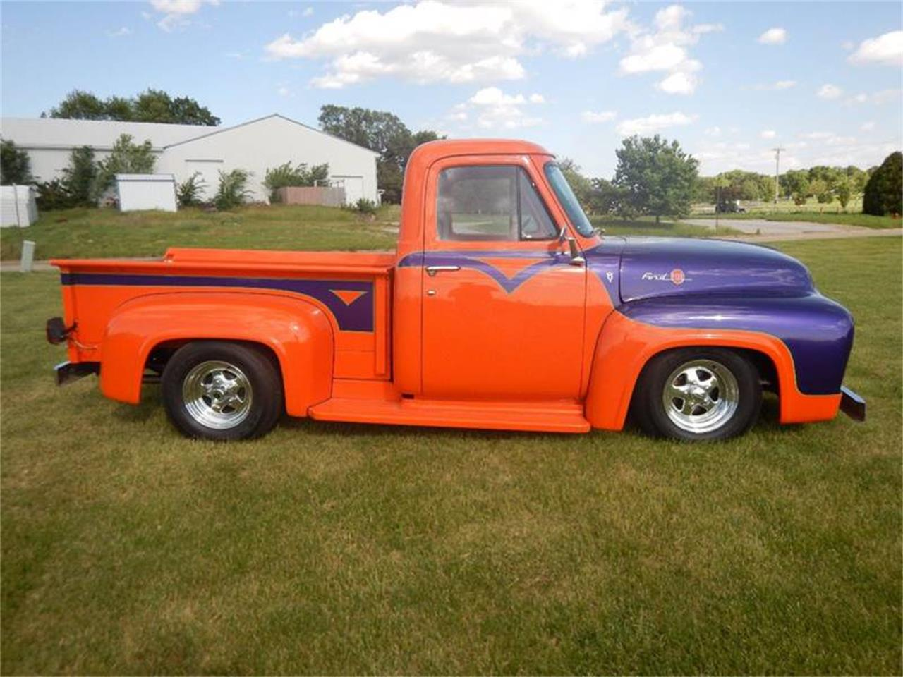 Large Picture of '55 Ford F100 Offered by Kinion Auto Sales & Service - PNCF