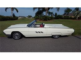 Picture of 1963 Ford Thunderbird located in Sun City Center Florida - $29,500.00 Offered by a Private Seller - PNEF