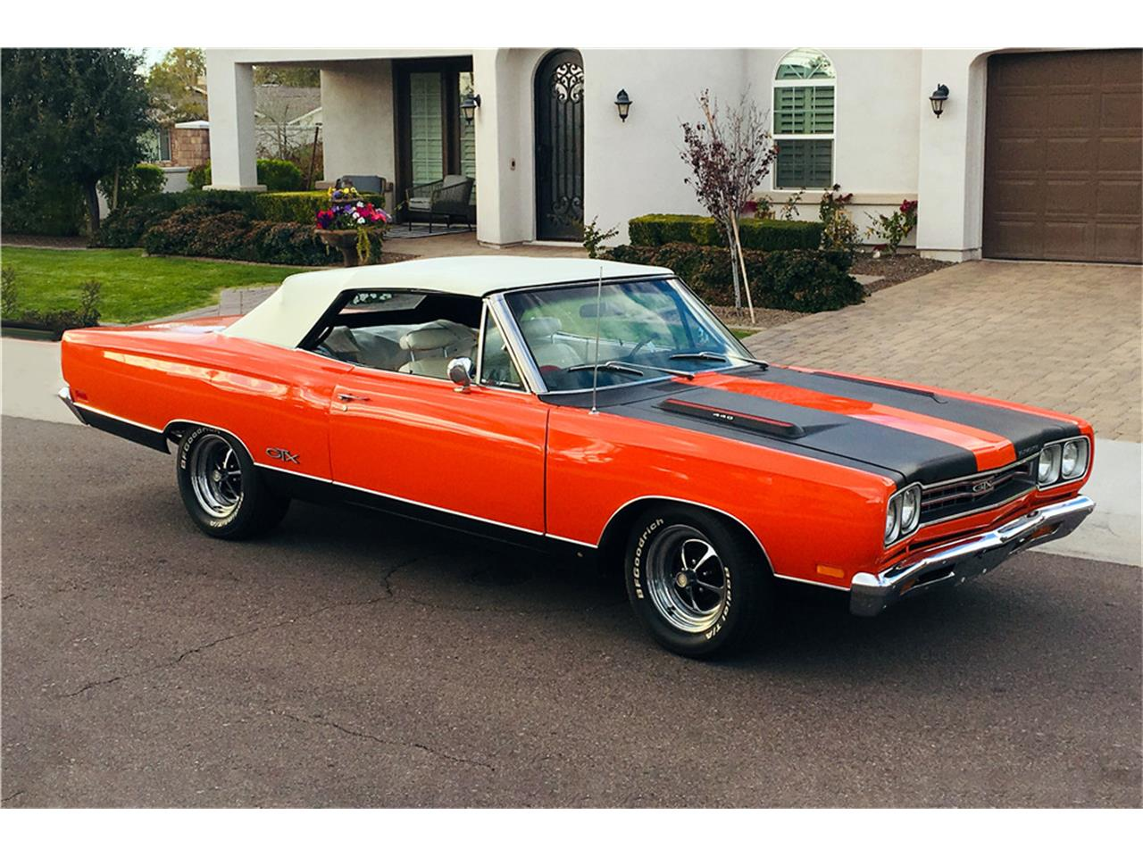 Large Picture of Classic 1969 Plymouth Satellite Auction Vehicle Offered by Barrett-Jackson Auctions - PNK5