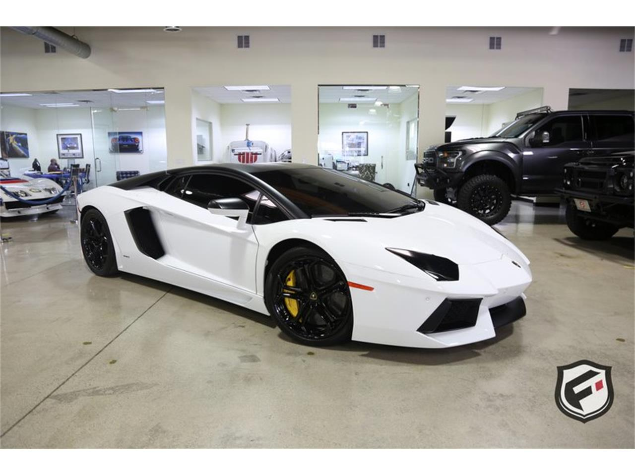 Large Picture of 2013 Lamborghini Aventador located in Chatsworth California Offered by Fusion Luxury Motors - PNKJ