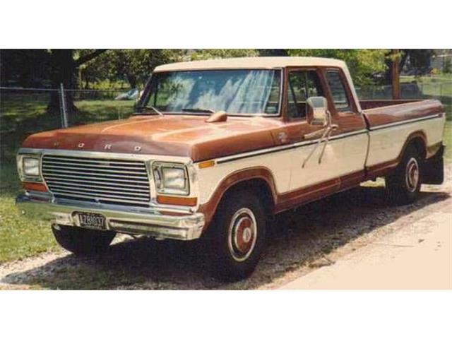 1979 ford f250 ranger xlt camper special