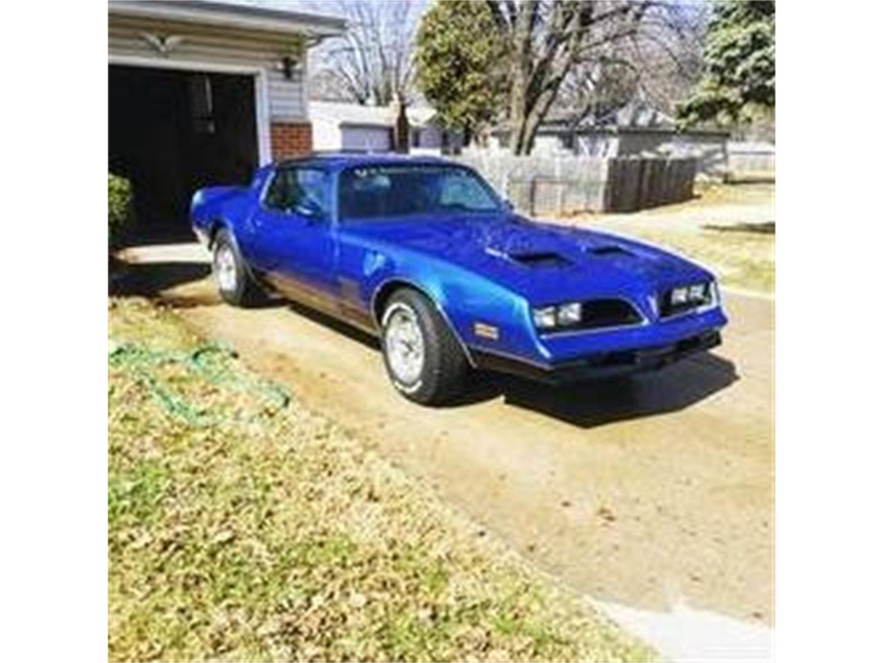 Large Picture of '78 Firebird - PNMS