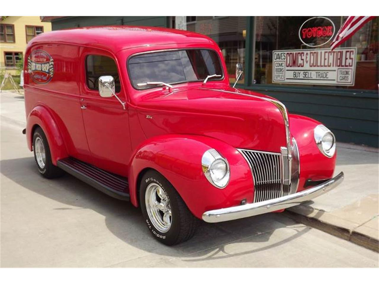 Large Picture of Classic '40 Ford Panel Truck located in Ohio - $39,900.00 Offered by Pro Muscle Car Inc. - PNPA