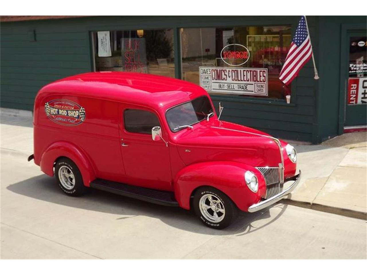 Large Picture of Classic 1940 Ford Panel Truck - PNPA