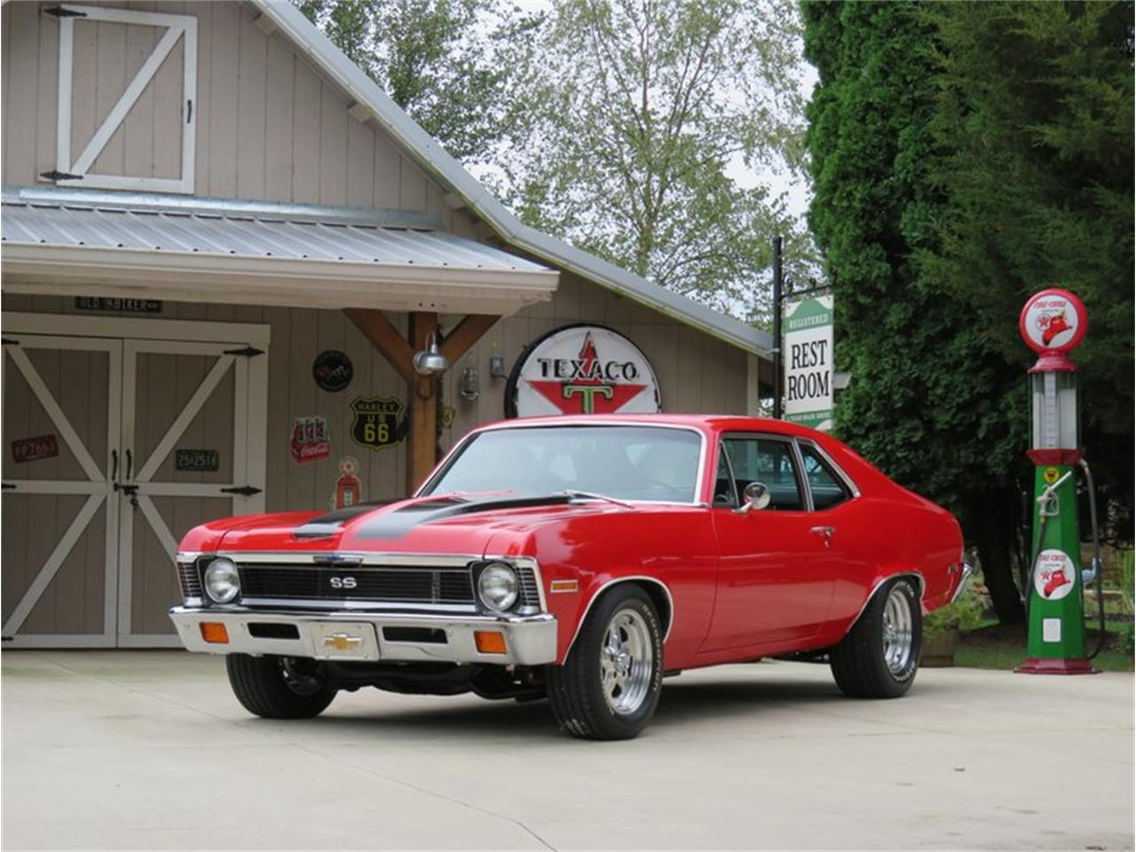 Large Picture of '71 Chevrolet Nova located in Kokomo Indiana Auction Vehicle Offered by Earlywine Auctions - PNQ5