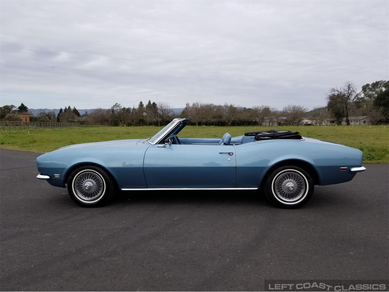 Large Picture of Classic 1968 Camaro located in Sonoma California Offered by Left Coast Classics - PNQK
