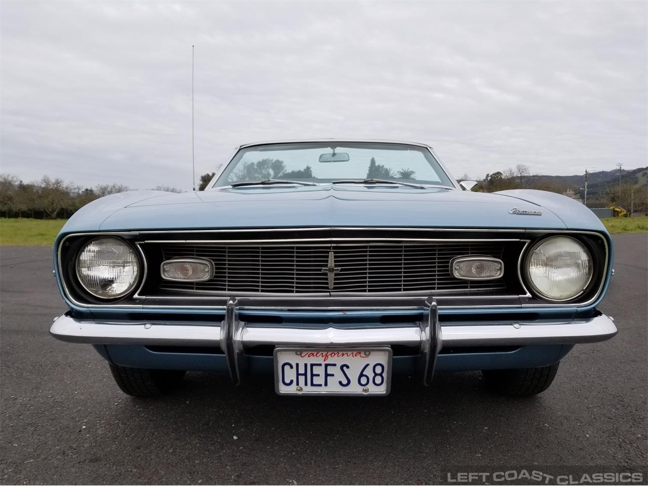 Large Picture of 1968 Camaro located in Sonoma California - $33,900.00 Offered by Left Coast Classics - PNQK